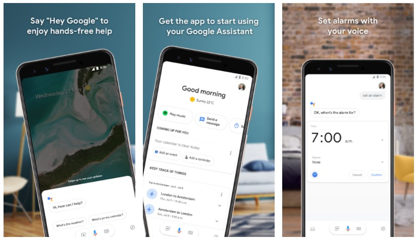 Google Weather/Assistant
