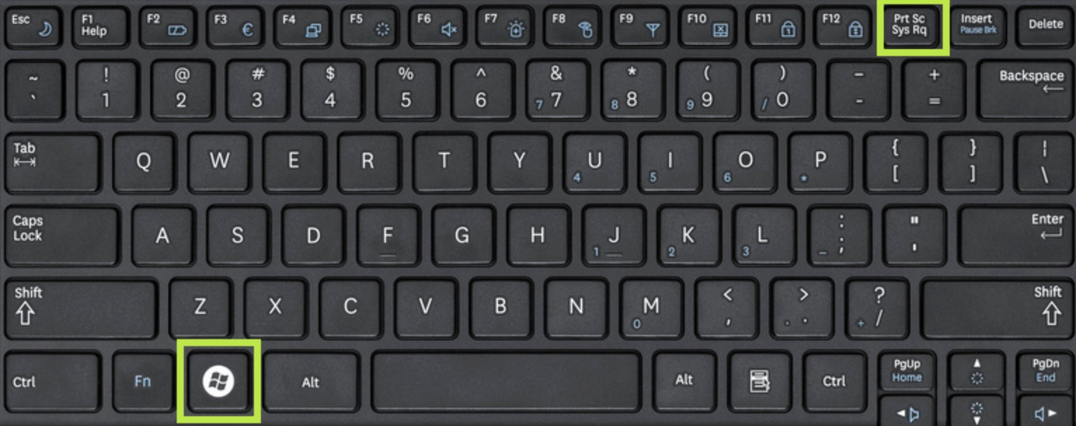 Windows Key + Print Screen